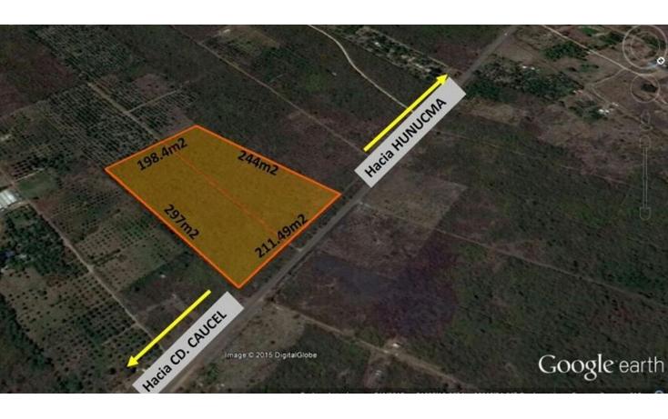 Foto de terreno comercial en venta en  , hunucm?, hunucm?, yucat?n, 1734438 No. 01