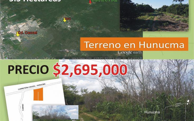 Foto de terreno comercial en venta en, hunucmá, hunucmá, yucatán, 1939712 no 02