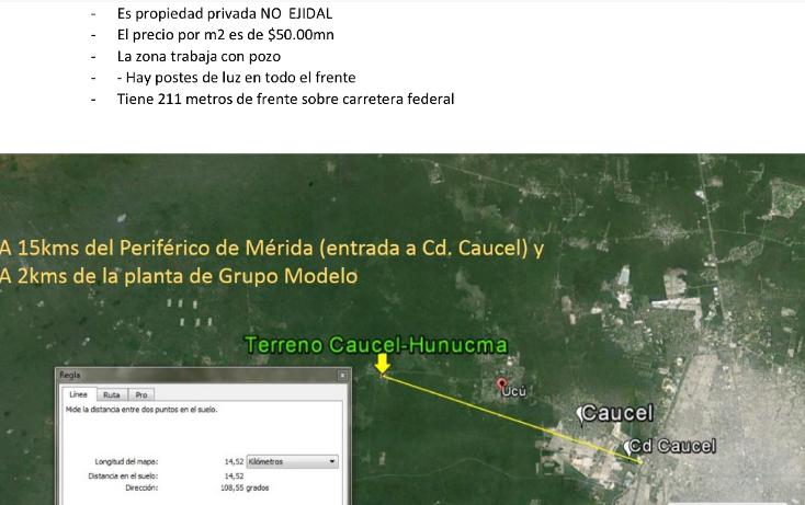 Foto de terreno habitacional en venta en  , hunucmá, hunucmá, yucatán, 1974492 No. 01