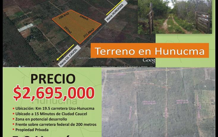 Foto de terreno habitacional en venta en  , hunucmá, hunucmá, yucatán, 1974492 No. 02