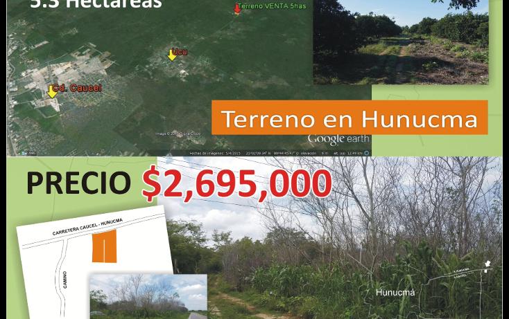 Foto de terreno habitacional en venta en  , hunucmá, hunucmá, yucatán, 1974492 No. 03