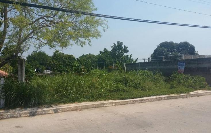 Foto de terreno habitacional en venta en idelfonso evia , macultepec, centro, tabasco, 1304933 No. 02