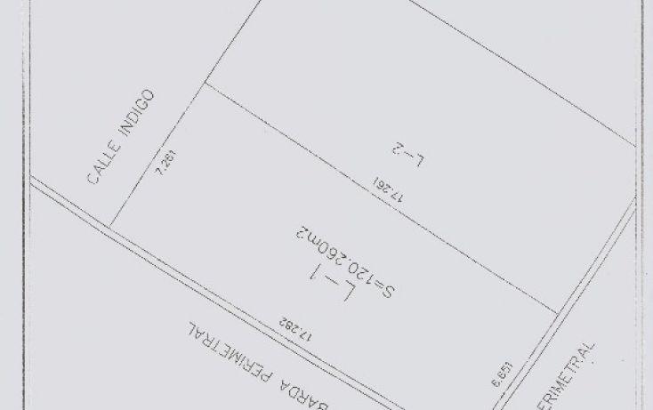 Foto de terreno habitacional en venta en indigo 1, san mateo cuanala, juan c bonilla, puebla, 1712564 no 02