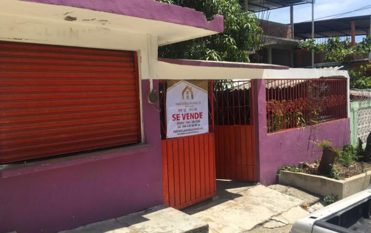 Foto de casa en venta en industrial 5, 2 de febrero, acapulco de juárez, guerrero, 1821014 no 01