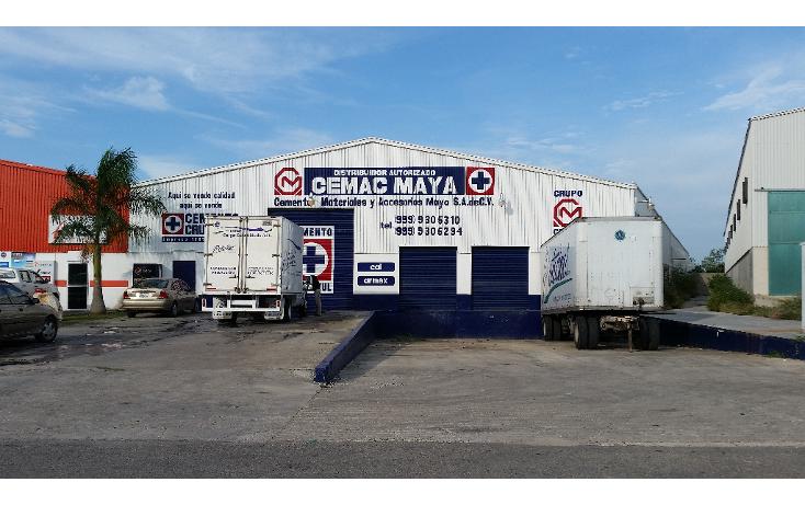 Foto de nave industrial en renta en  , industrial, mérida, yucatán, 1162951 No. 01