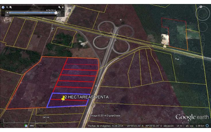 Foto de terreno industrial en venta en  , industrial, mérida, yucatán, 1165693 No. 02