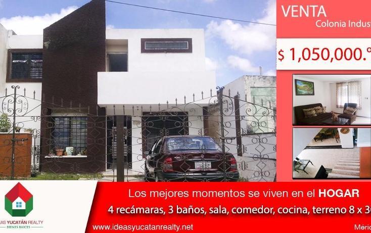 Foto de casa en venta en  , industrial, mérida, yucatán, 1412297 No. 01