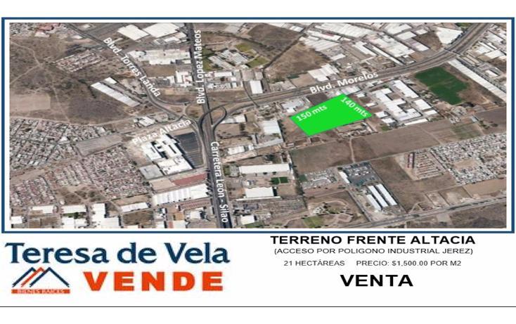 Foto de terreno comercial en venta en  , industrial santa julia, león, guanajuato, 1932502 No. 02