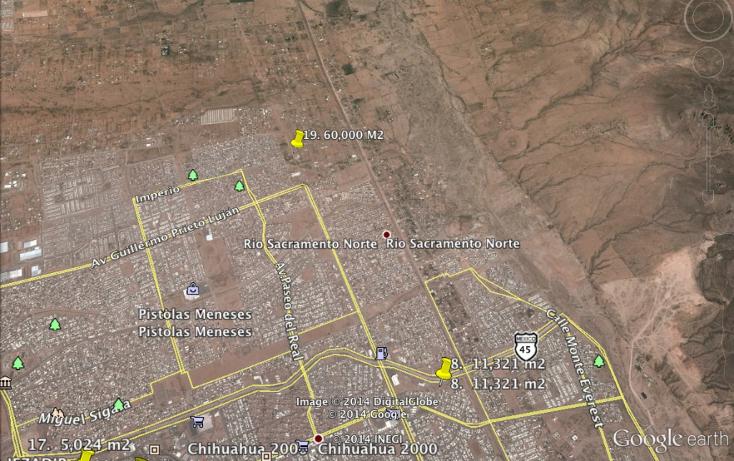 Foto de terreno comercial en venta en  , industrias, chihuahua, chihuahua, 1195561 No. 01