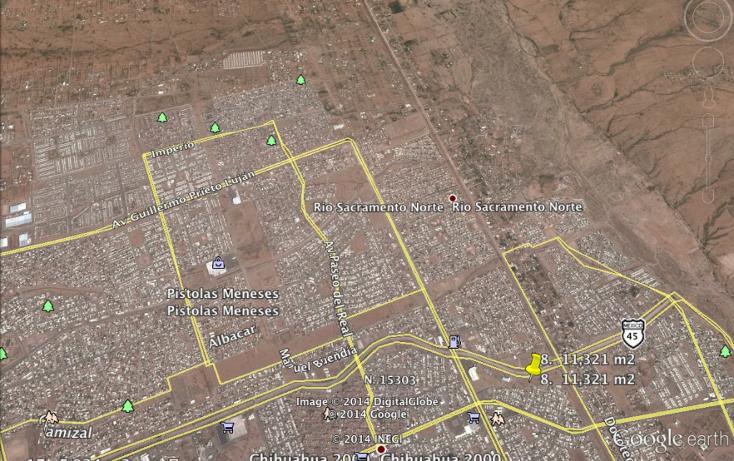 Foto de terreno comercial en venta en  , industrias, chihuahua, chihuahua, 1195561 No. 02