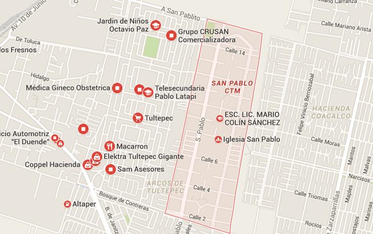 Foto de departamento en venta en  , infonavit c.t.m. san pablo tultepec, tultepec, méxico, 1743119 No. 03