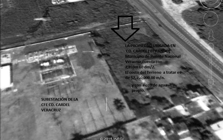 Foto de terreno comercial en venta en  , infonavit el pando i, puente nacional, veracruz de ignacio de la llave, 1162963 No. 05
