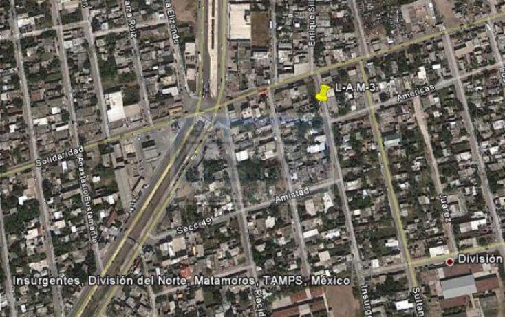 Foto de terreno habitacional en venta en insurgentes 6, división del norte, matamoros, tamaulipas, 517532 no 03