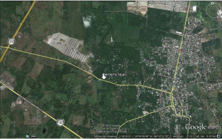Foto de terreno habitacional en venta en insurgentes, el tejar, medellín, veracruz, 1606992 no 05