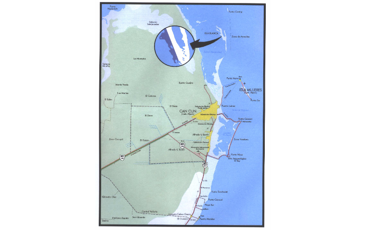 Foto de terreno comercial en venta en  , isla blanca, isla mujeres, quintana roo, 1187959 No. 08