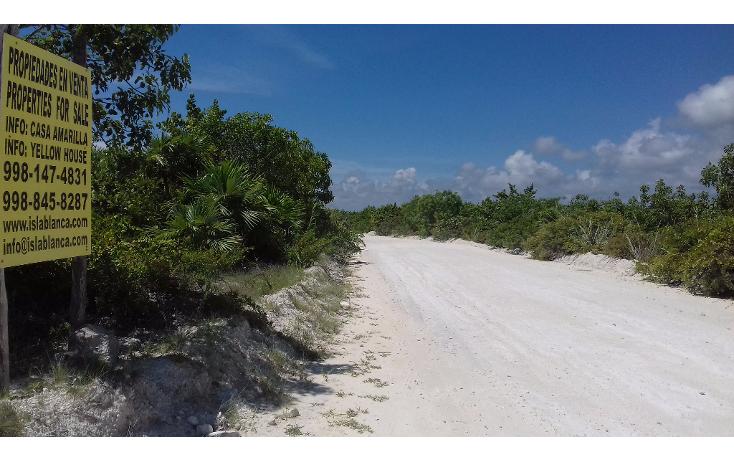 Foto de terreno habitacional en venta en  , isla blanca, isla mujeres, quintana roo, 1489317 No. 01