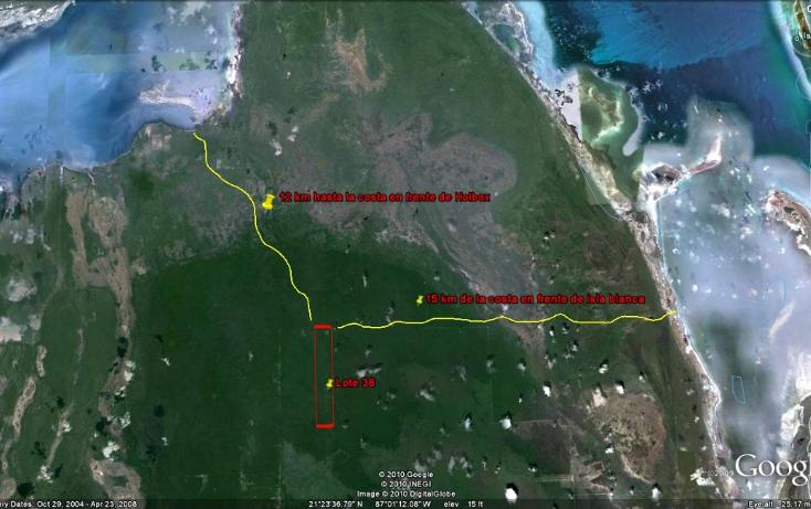 Foto de terreno comercial en venta en  , isla mujeres centro, isla mujeres, quintana roo, 1096905 No. 01