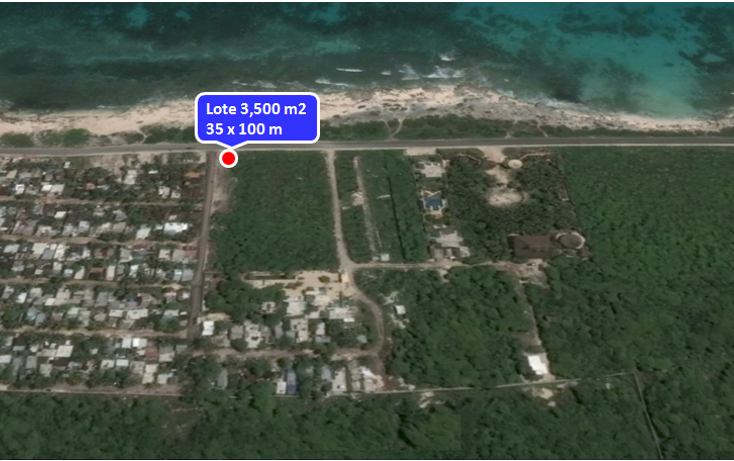 Foto de terreno comercial en venta en  , isla mujeres centro, isla mujeres, quintana roo, 1577336 No. 06