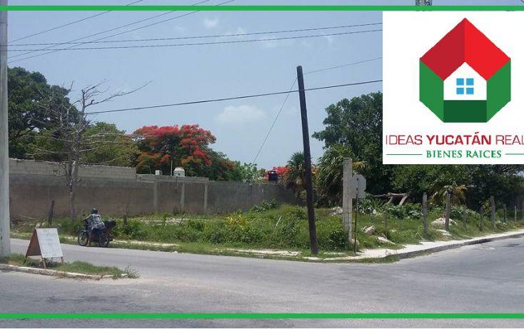 Foto de terreno comercial en venta en, ismael garcia, progreso, yucatán, 1241079 no 01