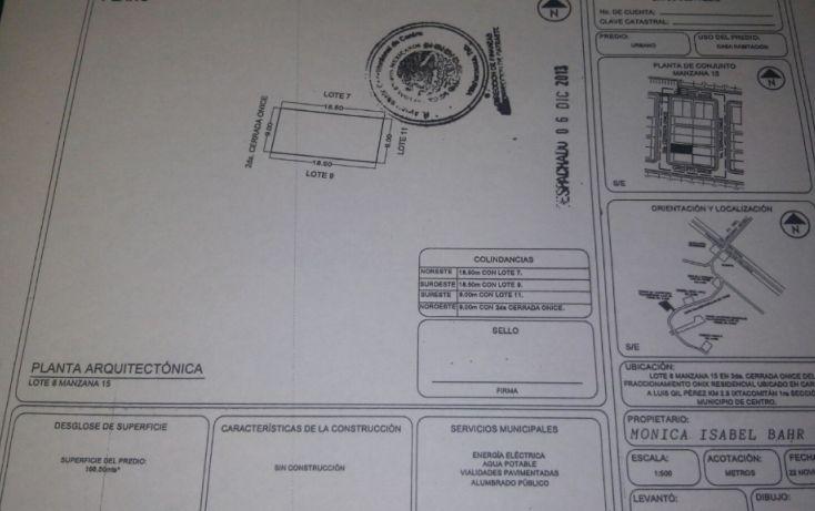Foto de terreno habitacional en venta en, ixtacomitan 1a sección, centro, tabasco, 1722778 no 01