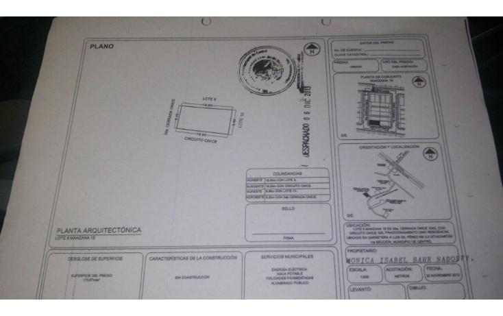 Foto de terreno habitacional en venta en  , ixtacomitan 1a secci?n, centro, tabasco, 1738568 No. 02
