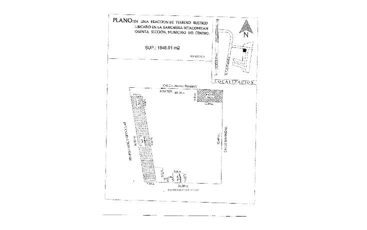 Foto de terreno comercial en venta en  , ixtacomitan 5a sección, centro, tabasco, 1192359 No. 08