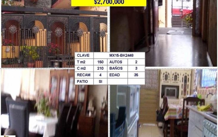 Foto de casa en venta en  , jacarandas, tlalnepantla de baz, m?xico, 1463841 No. 01