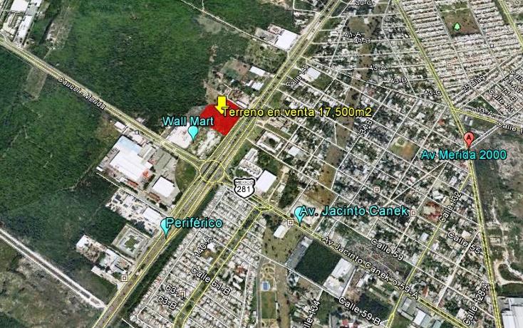 Foto de terreno comercial en venta en  , jacinto canek, mérida, yucatán, 1127095 No. 03