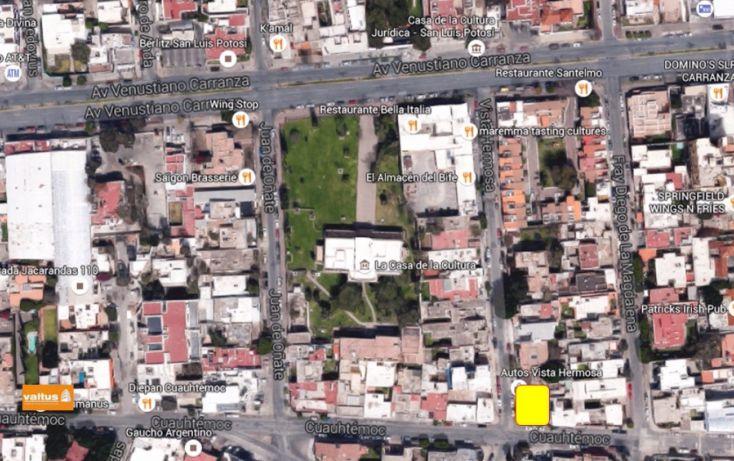 Foto de terreno habitacional en renta en, jardín, san luis potosí, san luis potosí, 1631962 no 01