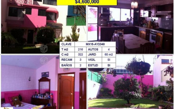 Foto de casa en venta en, jardines bellavista, tlalnepantla de baz, estado de méxico, 907465 no 01