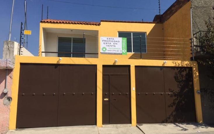 Foto de casa en venta en  , jardines de guadalupe, morelia, michoacán de ocampo, 1735742 No. 01