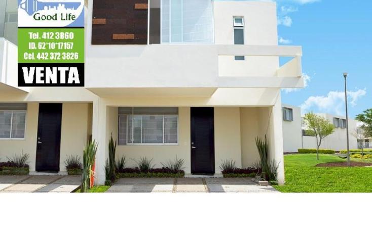 Foto de casa en venta en  , jardines de la corregidora, corregidora, quer?taro, 1360549 No. 01