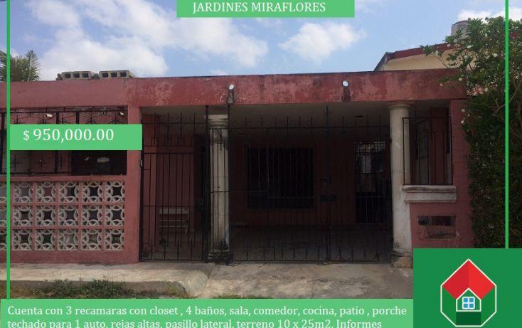 Foto de casa en venta en, jardines de miraflores, mérida, yucatán, 1414821 no 01