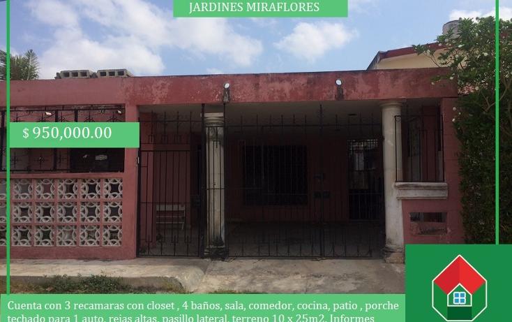 Foto de casa en venta en  , jardines de miraflores, m?rida, yucat?n, 1414821 No. 01
