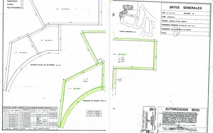 Foto de terreno habitacional en venta en  , jardines de san agustin 1 sector, san pedro garza garcía, nuevo león, 1977062 No. 08