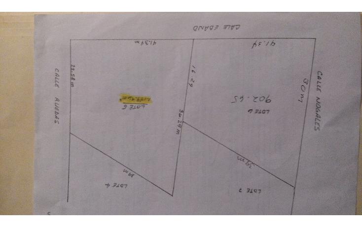 Foto de terreno habitacional en venta en  , jardines de santiago, santiago, nuevo león, 1553736 No. 03