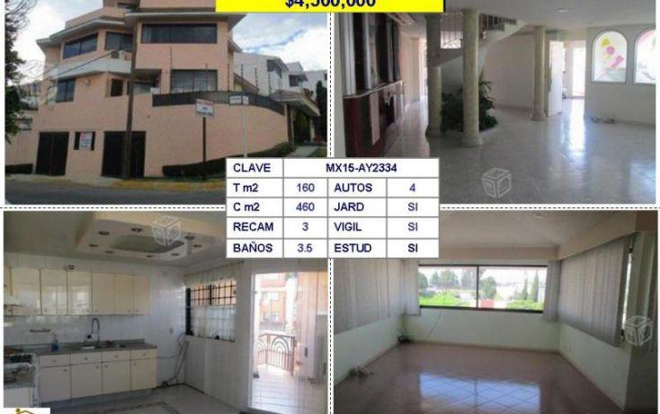 Foto de casa en venta en, jardines de satélite, naucalpan de juárez, estado de méxico, 980173 no 01