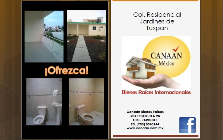 Foto de casa en venta en  , jardines de tuxpan, tuxpan, veracruz de ignacio de la llave, 1184409 No. 04
