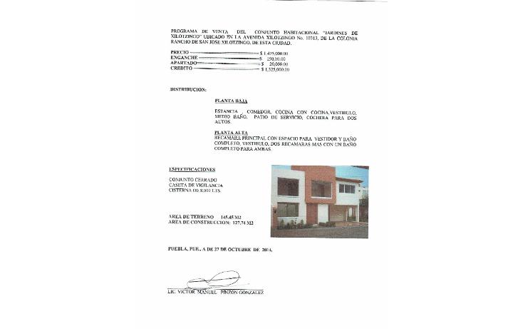 Foto de casa en venta en  , jardines de xilotzingo, puebla, puebla, 1184141 No. 01