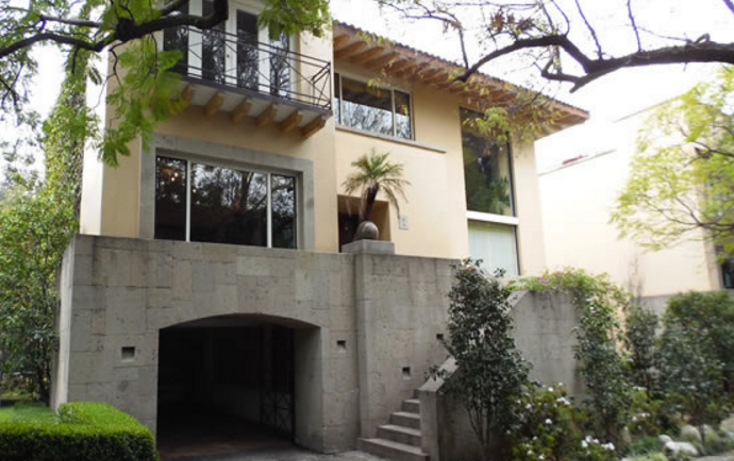 Foto de casa en venta en  , jardines del pedregal de san ?ngel, coyoac?n, distrito federal, 1658961 No. 01