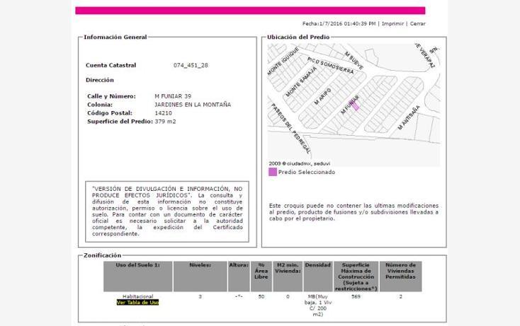Foto de casa en venta en  , jardines en la montaña, tlalpan, distrito federal, 2039740 No. 03