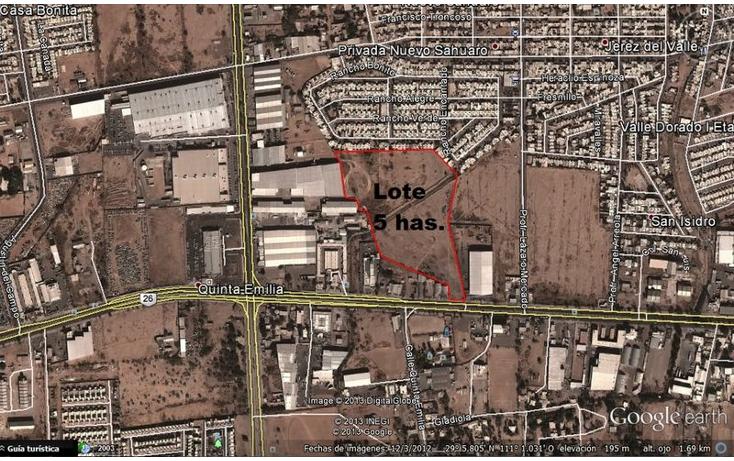 Foto de terreno comercial en venta en  , jerez del valle, hermosillo, sonora, 1081155 No. 01
