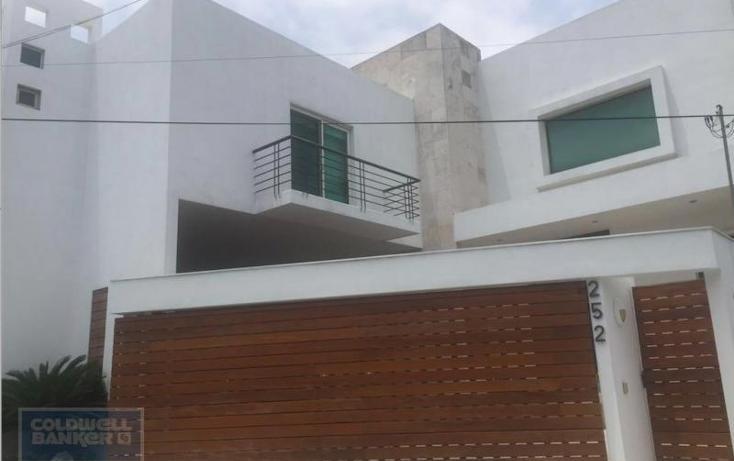 Foto de casa en venta en  , jerónimo siller, san pedro garza garcía, nuevo león, 2720505 No. 01