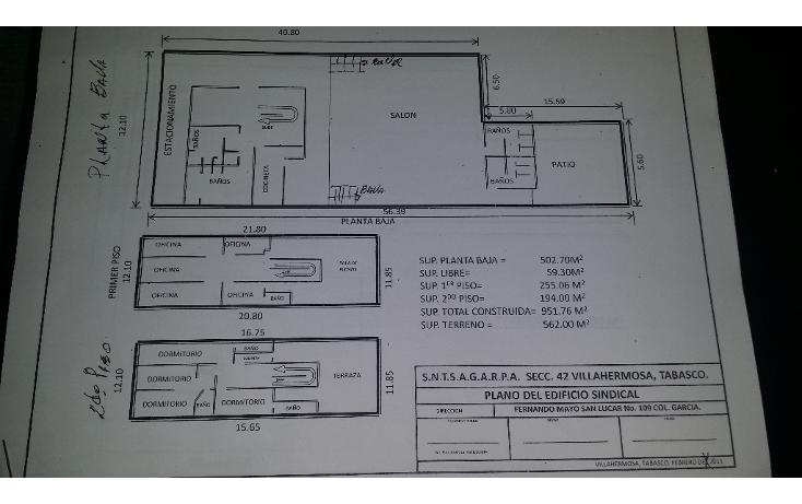 Foto de edificio en renta en  , jes?s garcia, centro, tabasco, 1135341 No. 02