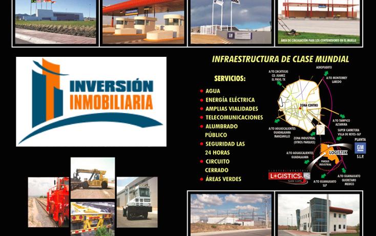 Foto de terreno industrial en venta en  , jesús maría, villa de reyes, san luis potosí, 1168941 No. 01