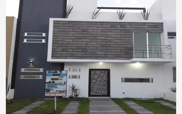 Foto de casa en venta en joaquin 15, paseos del marques, el marqu?s, quer?taro, 1827650 No. 01
