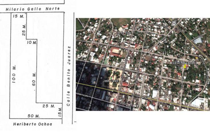 Foto de terreno comercial en venta en, josé cardel centro, la antigua, veracruz, 1300179 no 01