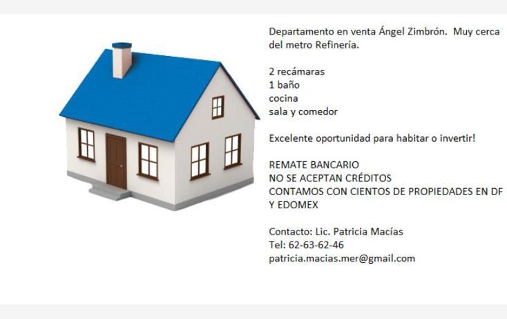 Foto de departamento en venta en josé f. gutierrez 181, angel zimbron, azcapotzalco, distrito federal, 0 No. 02