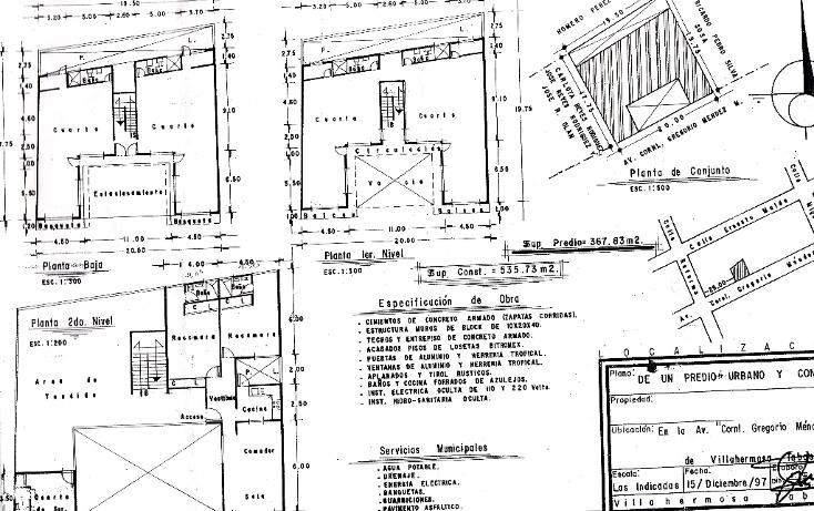 Foto de edificio en venta en  , jose n rovirosa, centro, tabasco, 1142549 No. 02