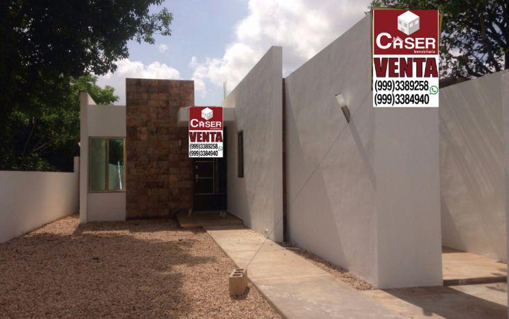 Foto de casa en venta en, juan b sosa, mérida, yucatán, 1684996 no 01